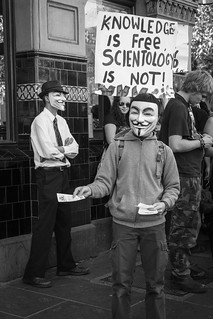 Anti Scientology Protest #3