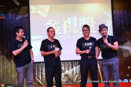 Best Supporting Actor Nominees (L-R) - Chan Fong, Yap Chin Fong, Freddie Wong, Alvin Wong