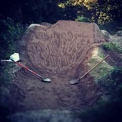 完成!あーしんど。#bmx #trails