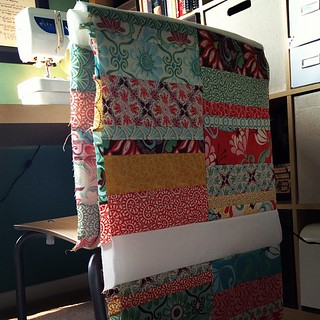 My @katespain quilt is starting to take shape!!!  #katespain #sewing #quilting