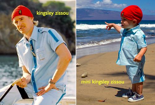 kingsley zissou and mini kingsley