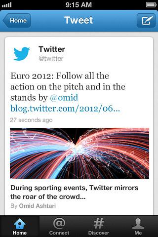 Twitter for iPhone updated