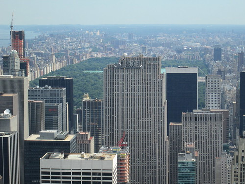 Empire State Building Observatory, North View. NYC, Nueva York