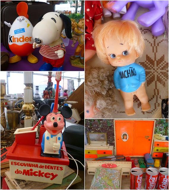 Brinquedos na feira