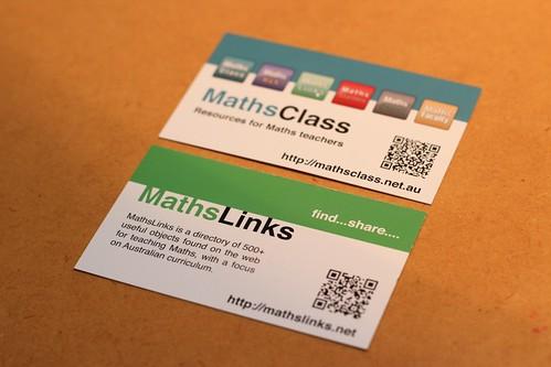 MathsLinks Business Card