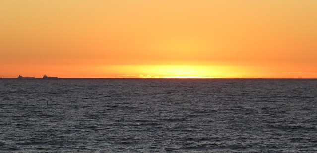 Sunset from Cottesloe Beach