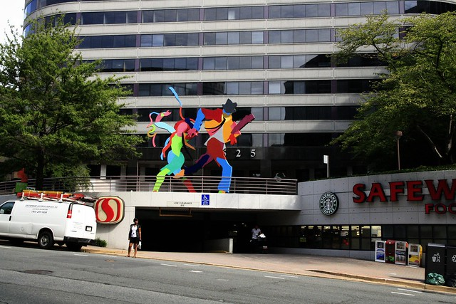 Dancers in Rosslyn