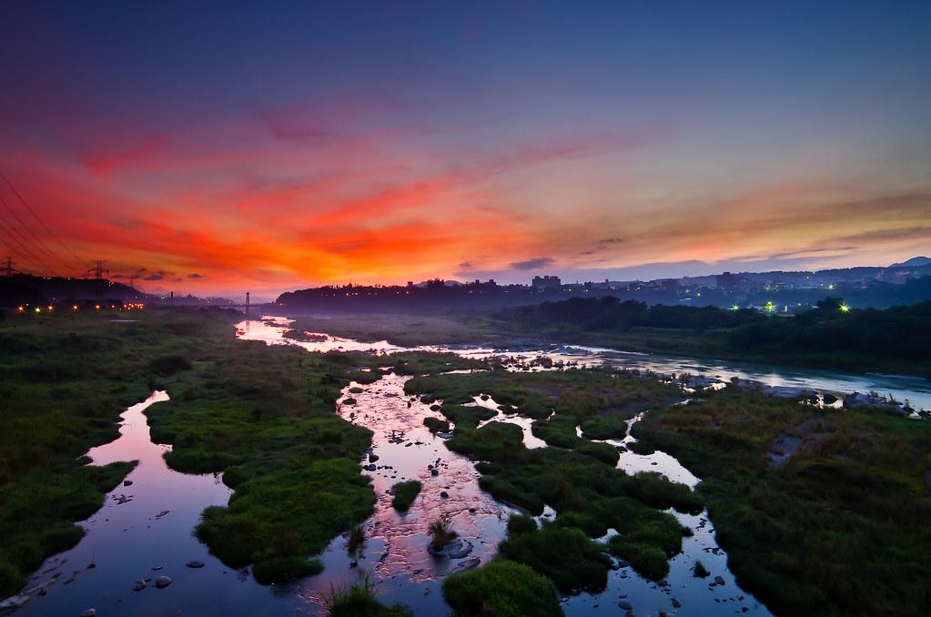 大溪晨彩~一張流