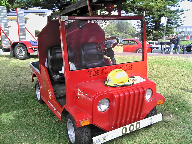Fire Truck Golf Cart Bodies http://www.flickr.com/photos/aussiefordadverts/7572811932/
