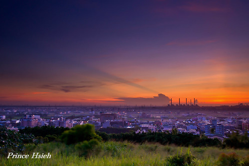 sunset taiwan 夕陽 台中市 taichungcity 大肚山 dadumountain sonya850 sony2470za