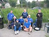 Mansfield PC team that competed in round one of the Sherwood Triples tournament