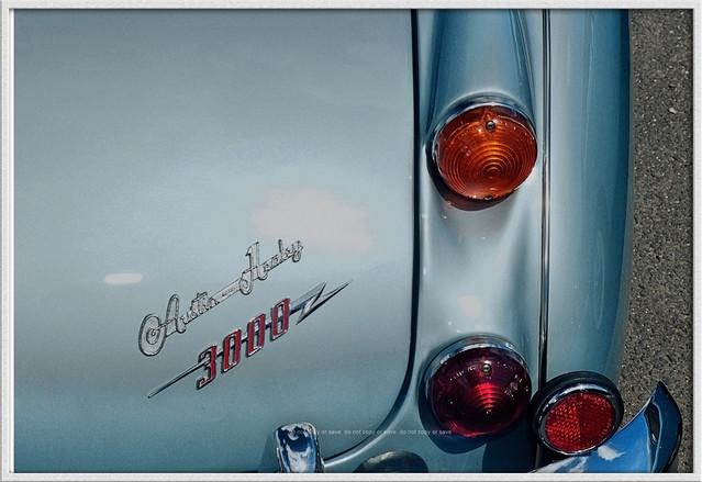 Austin Healey 3000 Mk.3 : Rear Badge Detail :
