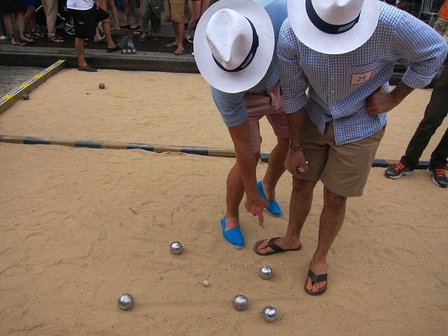 Bastille Day 2012, Smith Street, Brooklyn, Petanque