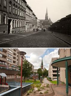 Gothenburg, Masthugget 1910 / 2012