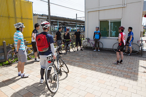East River Cycling in Chiba