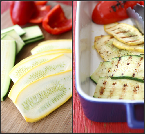 Grilled Italian Panini Recipe with Zucchini, Summer Squash & Basil {Vegetarian}