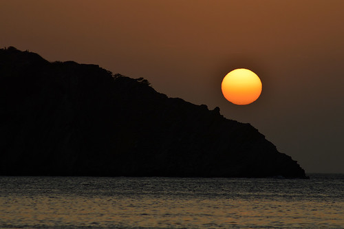 sunset sea sun nature silhouette 15challengeswinner