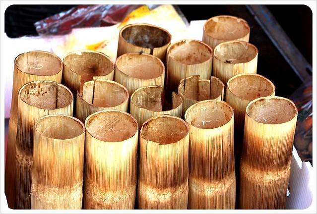 battambang market sticky rice