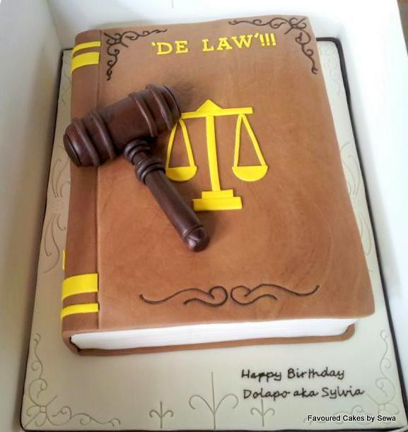 Birthday Cake Images For Advocate : Lawyer book cake Flickr - Photo Sharing!