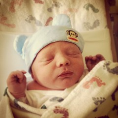Kayson Zachary Galaviz. 8lbs 5oz.  (Not sure about spelling yet.)