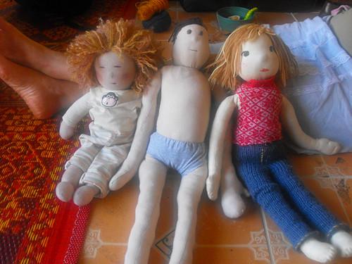 Muñecos Waldorf