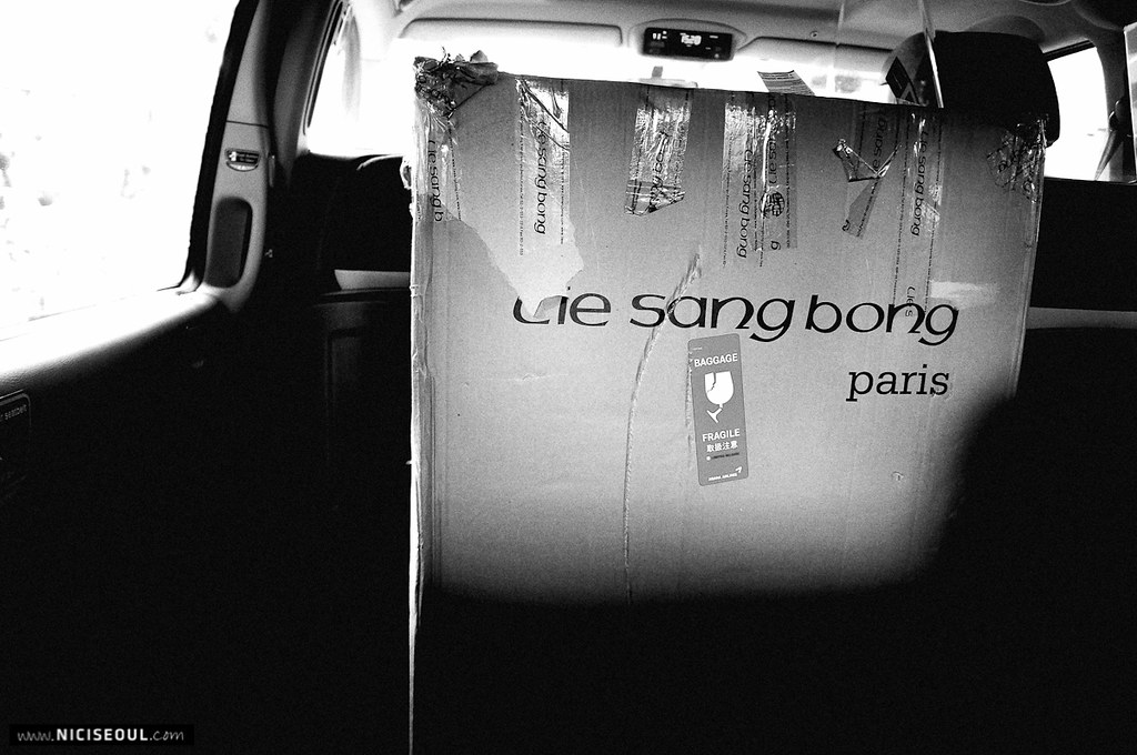 Backstage - Lie Sang Bong Shoot