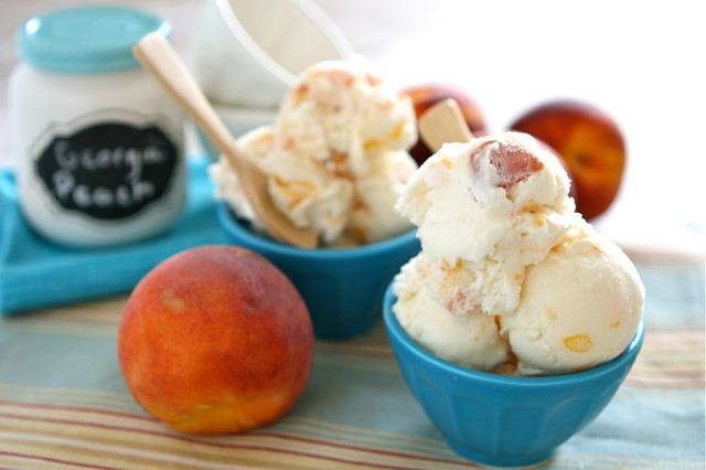 Peach Ice Cream 001