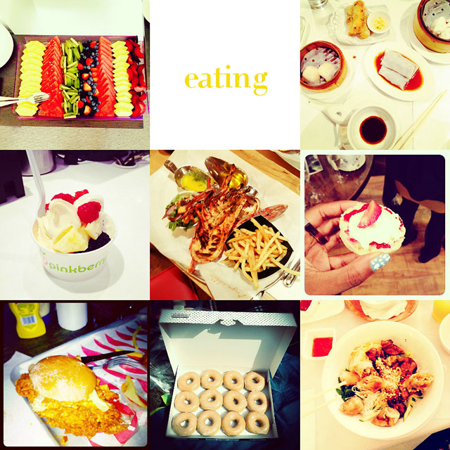 fashion blogger instagram what food  i ate