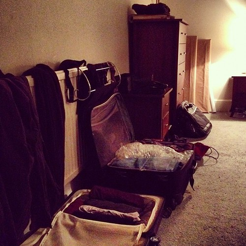 Day 251 of Project 365: Packing for One