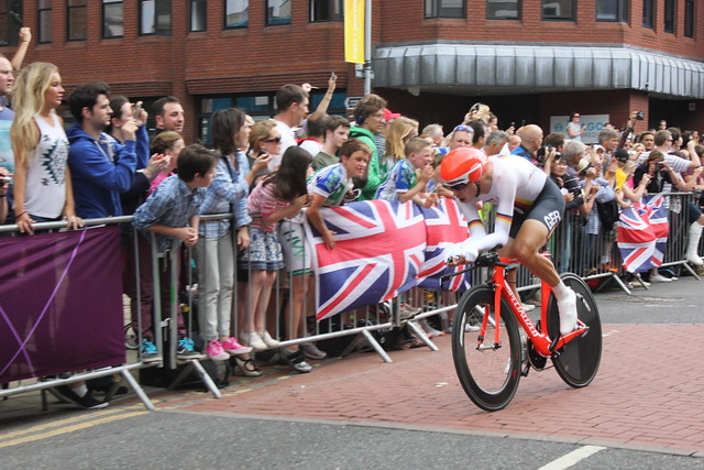 Tony Martin in London 2012 Olympic men's time trial