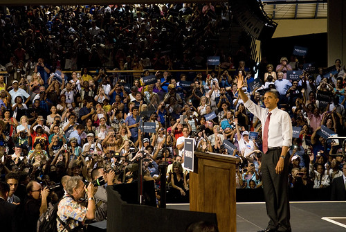 President Barack Obama Holds Grassroots Event at Rollins