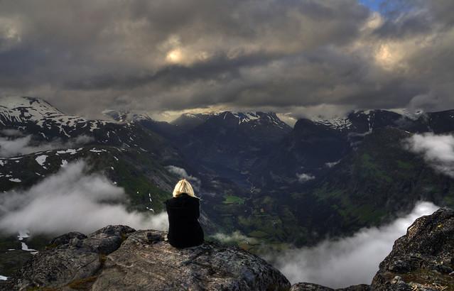 View over Geiranger