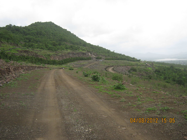 Cut, Demolished & Destroyed Hill of XRBIA Hinjewadi Pune - Nere Dattawadi, on Marunji Road, approx 7 kms from KPIT Cummins at Hinjewadi IT Park - 120