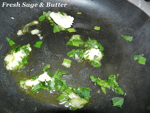 Pasta butter and sage (3)