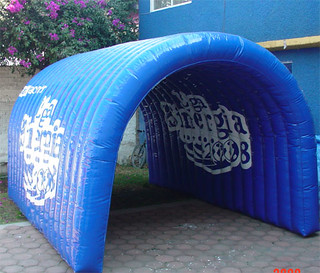 tunel inflable