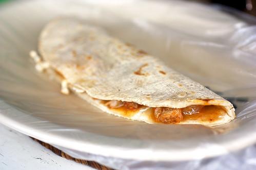 tripe quesadilla @ quekas