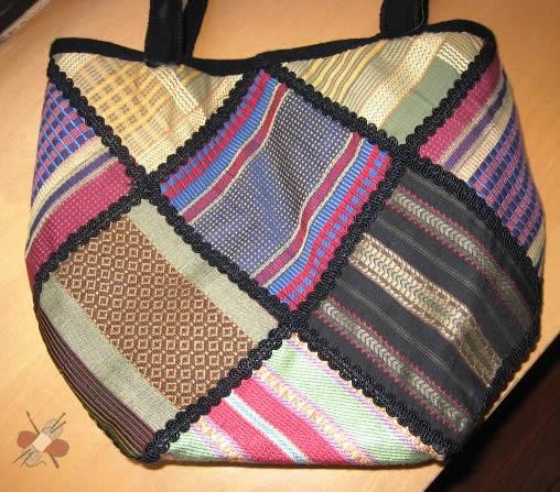 Bolso patchwork de Pilar