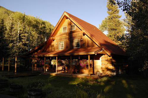 city lake mountains tom sunrise rockies cabin nikon colorado july rockymountains 2012 d40 perfectbeauty oldcarsoncabin