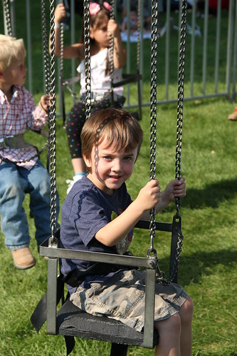 Olsen on the swings