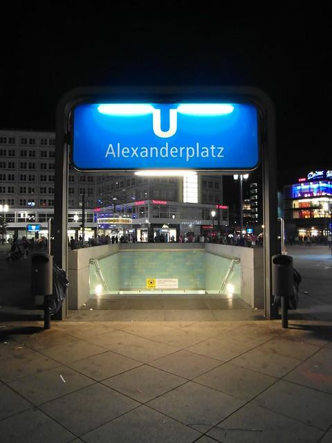 u bahnhof alexanderplatz rome - photo#2