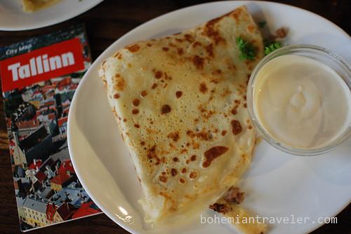 Estonian pancakes