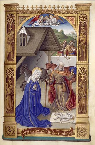 018-Libro de horas de Carlos VIII Rey de Francia -1401-1500-Copyright Biblioteca Nacional de España