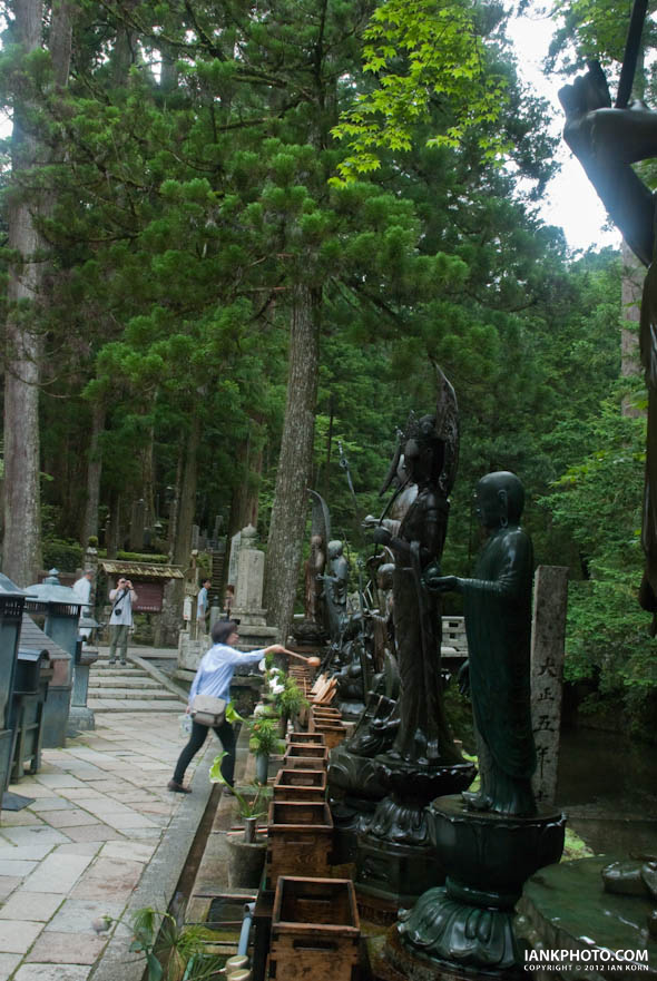 Okunoin Cemetery, Koyasan, Japan