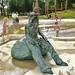 sculpture in Victoria Park by helenoftheways