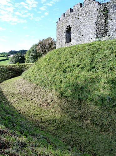 Motte and Bailey at Restormel Castle