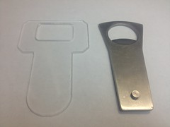 Bottle Opener CNC Lesson by mikeysklar
