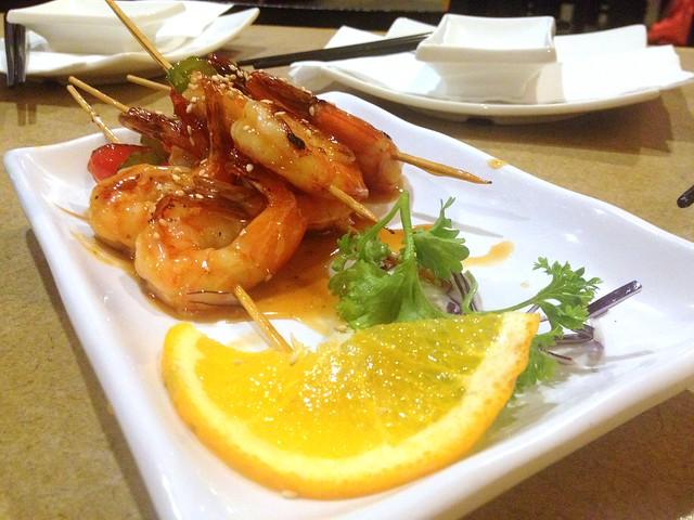 Shrimp Yaki-Tori