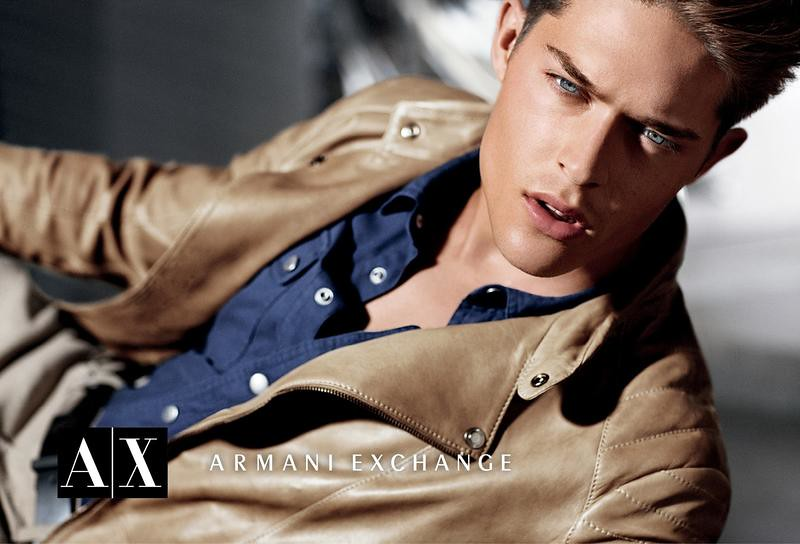 Cesar Casier0114_Armani Exchange Fall 2012