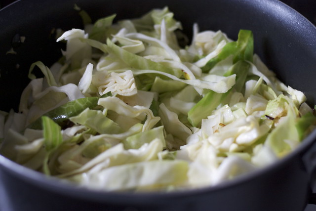 Cabbage, Potato and Leek Soup