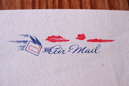 Air Mail with wings
